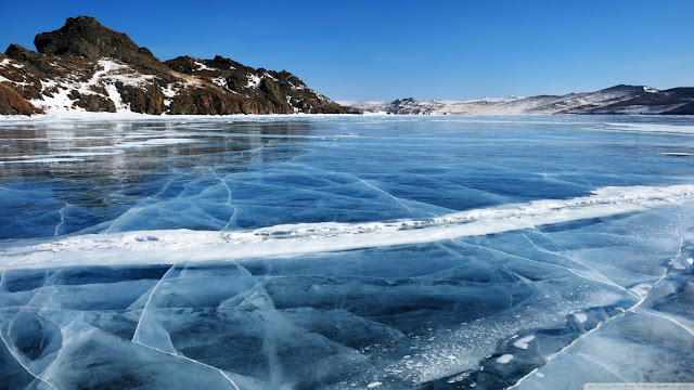 Frozen Lake Ireland