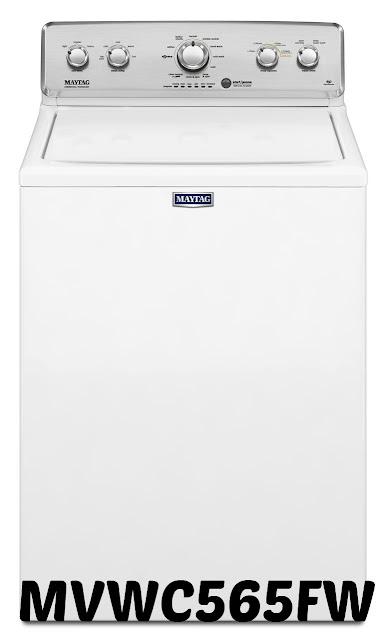 MVWC565FW  maytag washer
