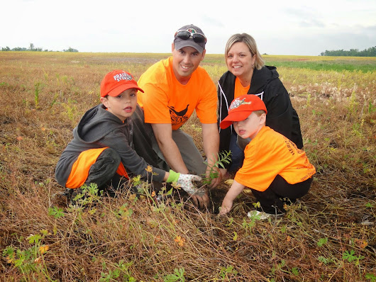 Pheasats Forever's Youth Pollinator Habitat Program
