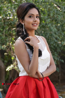 Actress Mahima Nambiar Latest Stills in White Top and Red Skirt at Kuttram 23 Movie Press Meet  0005.jpg