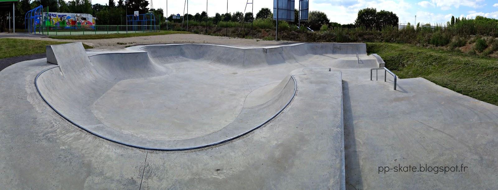 Skatepark bowl Ablis