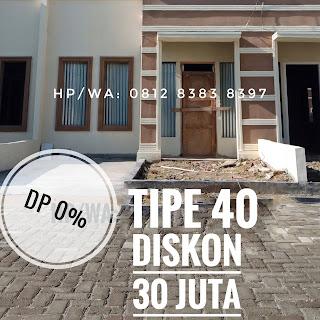 Rumah Murah Tipe 40 DP Di Taman Palem Mas Tanjung Morawa Medan Sumatera Utara