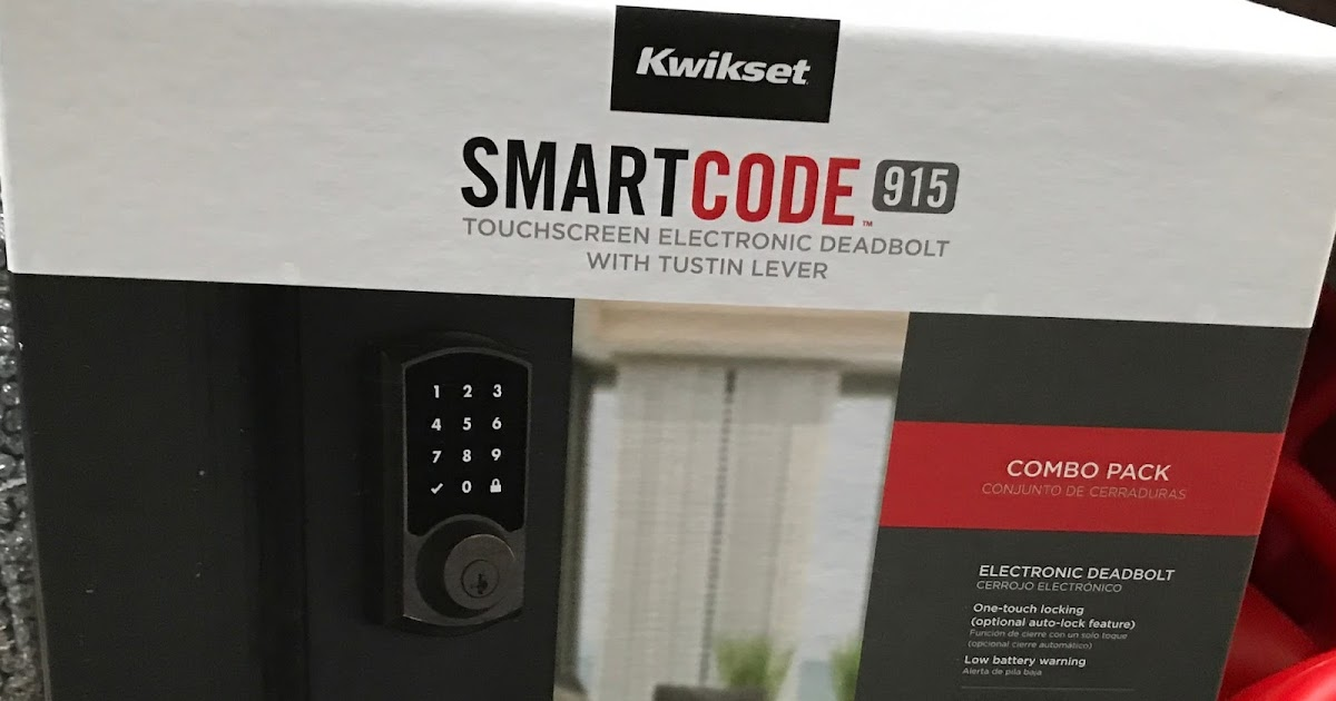 Kwikset SmartCode 915 Touchscreen Electronic Deadbolt with
