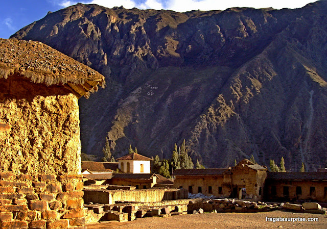 Ollantaytambo, no Vale Sagrado (Vale do Urubamba)