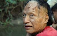 Un hombre murunahua recientemente contactado.