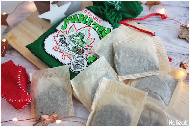 Thé d'érable  Maple tea de La petite cabane à sucre de Québec