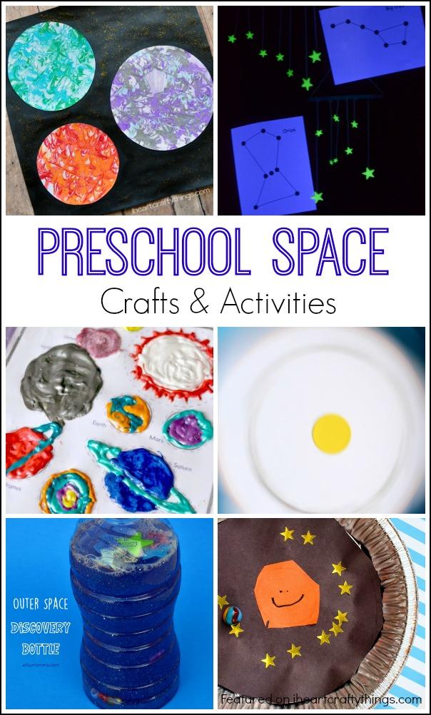 Preschool Space Crafts and Activities