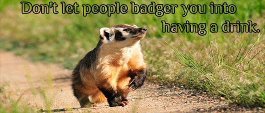 To badger (Барсу́к) someone