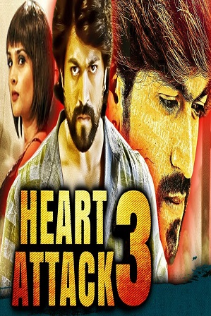 Heart Attack 3 (2018) 300Mb Full Hindi Dubbed Movie Download 480p HDRip thumbnail
