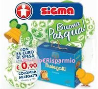 Logo Colomba Melegatti a soli euro 0,90 ? da Sigma si può !