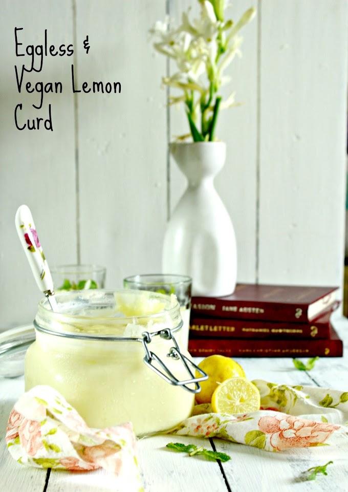 Condiment | Eggless & Vegan Lemon Curd