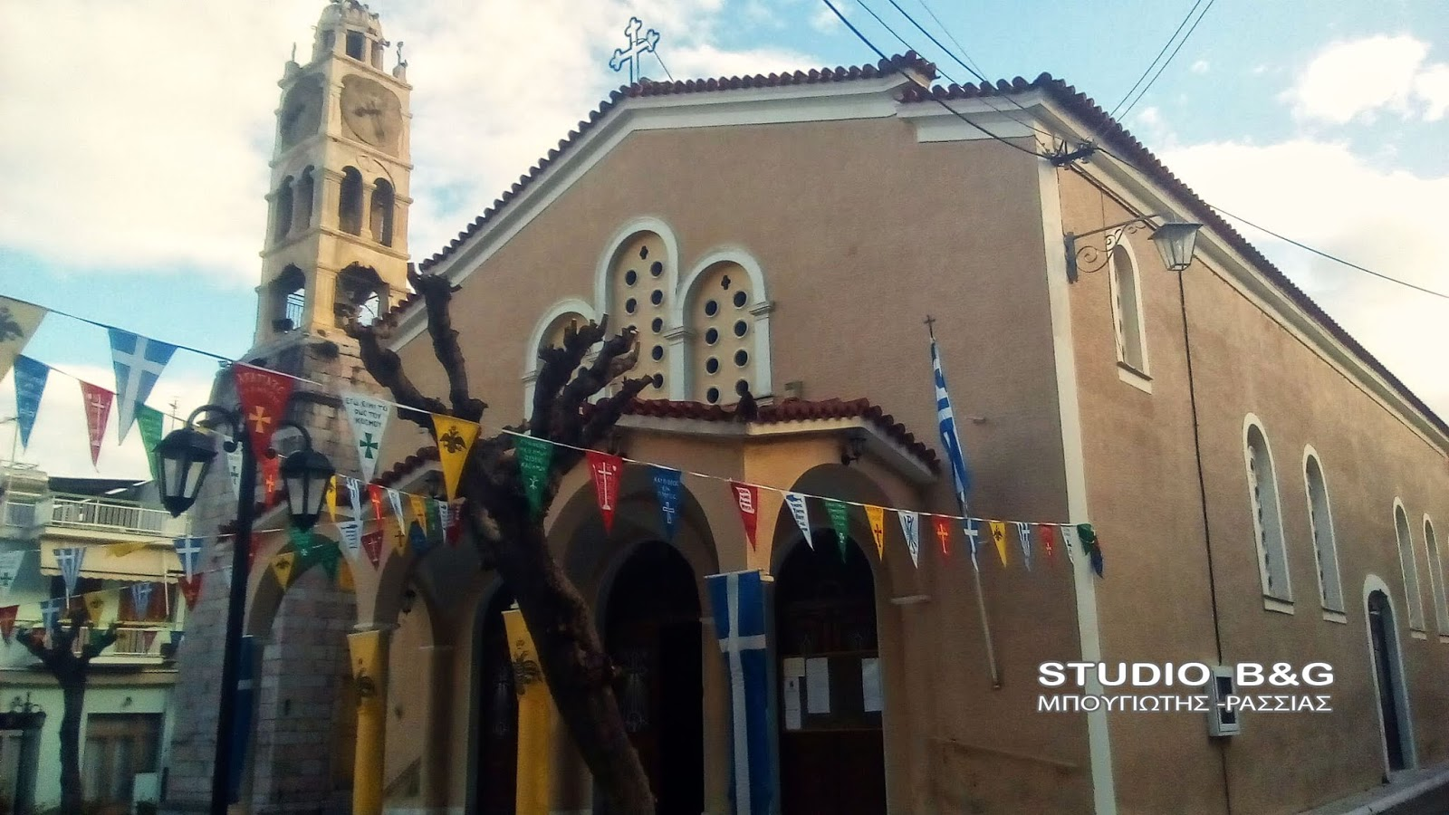 Εορτάζει ο Ιερός Ναός Αγίας Τριάδος Ναυπλίου