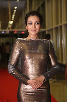 Actress Catherine Tresa in Golden Skin Tight Backless Gown at Gautam Nanda music launchi ~ Exclusive Celebrities Galleries 067.JPG