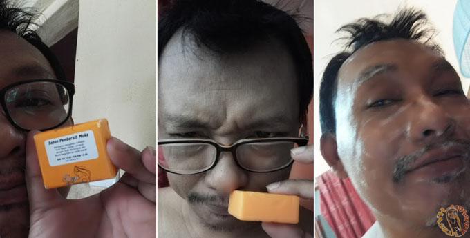 Review Deeja Cosmetic - 5 Dalam Satu - Guna Sabun Pembersih