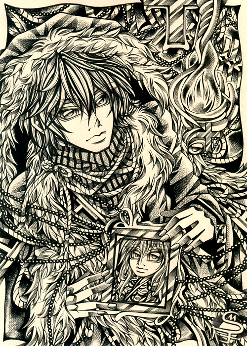 16-Bound-Memories-Sandra-Filipova-DarkSena-Manga-Black-and-White-and-Colour-Detailed-Drawings-www-designstack-co