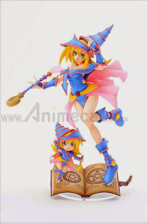 BLACK MAGICIAN GIRL with CHIBI BLACK MAGICIAN GIRL FIGURE LIMITED EDITION Yu-Gi-Oh! Duel Monsters AMAKUNI