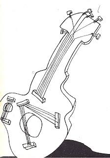 Dibujo de Bob Dylan