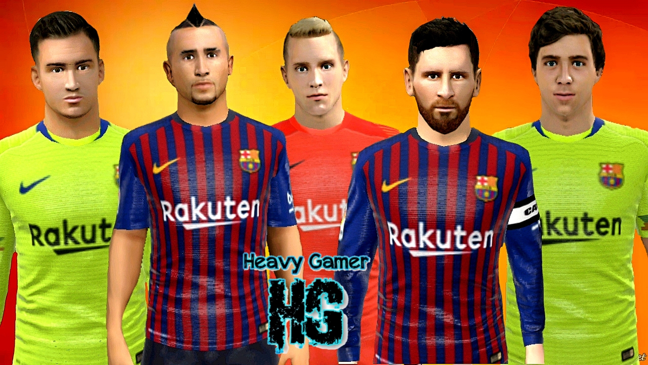 Fc Barcelona 2018-19 Kits Logo & All Players For Dream