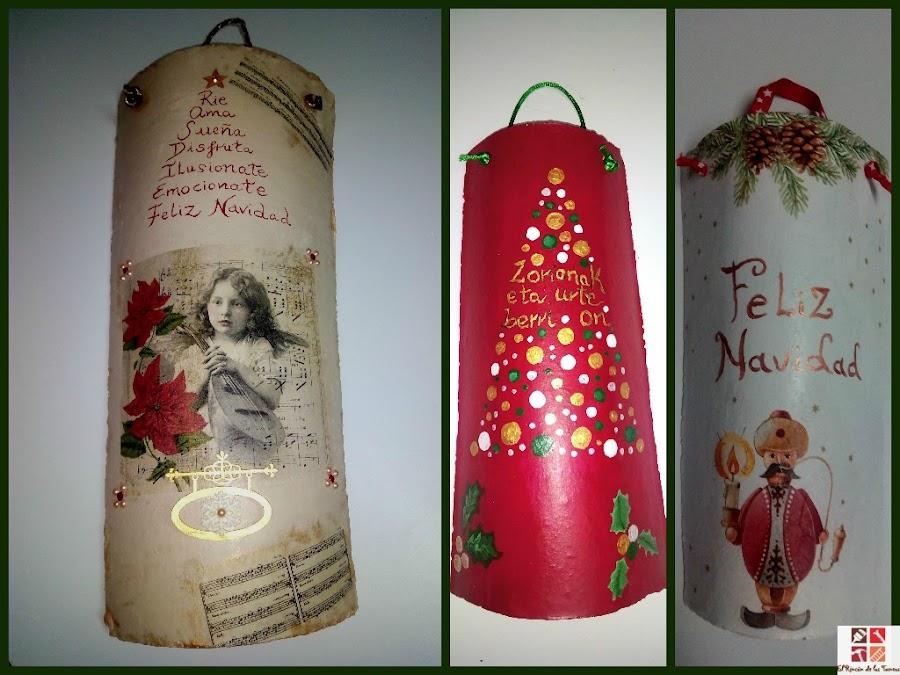 tejas navideñas