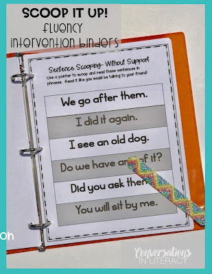 Fluency Activities and Fluency Intervention Binders for Improving Fluency