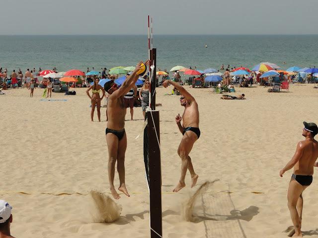 Voley playa masculino en Cádiz