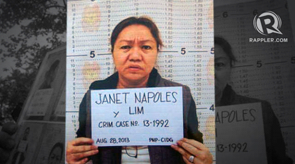 Napoles names 20 senators, 100 congressmen involved in park barrel
