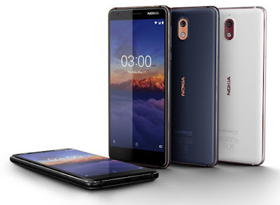 Nokia 3.1 with 18:9 Display, 2GB RAM launched in India for Rs 10499