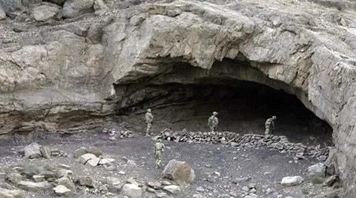 Soldados estadounidenses descubren antiguo Vimana dentro de una remota cueva en Afganistán