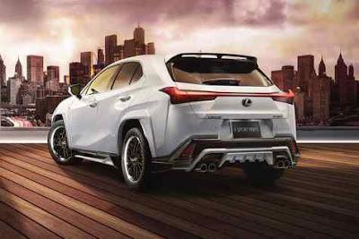 Tampilan Baru Super Sporty Lexus UX, Semakin Agresif dan Aerodinamis