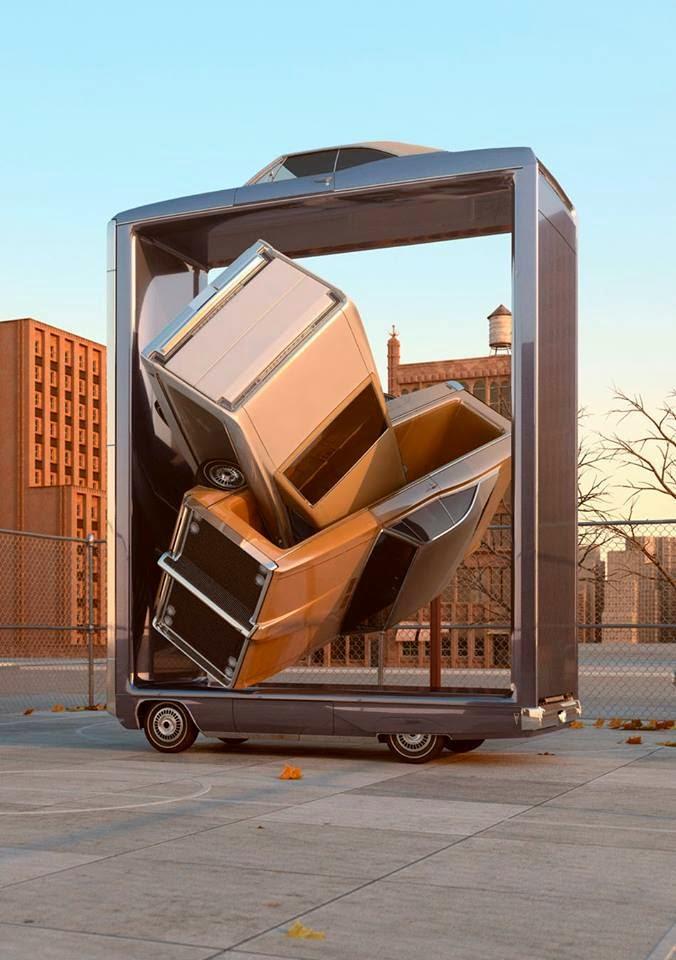 esculturas automovilisticas