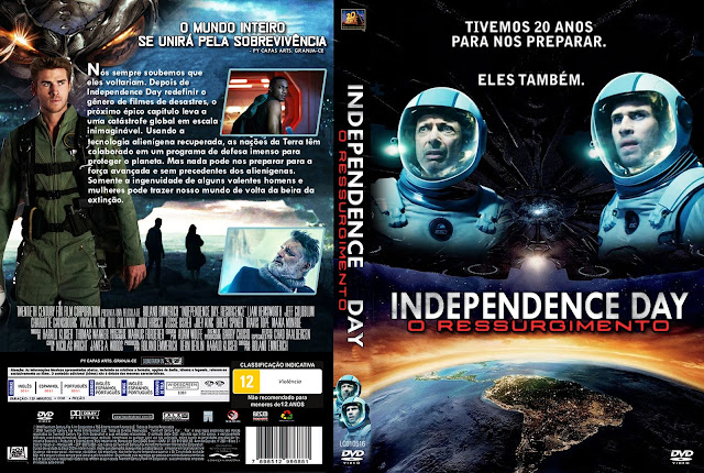 Capa DVD Indepence Day O Ressurgimento
