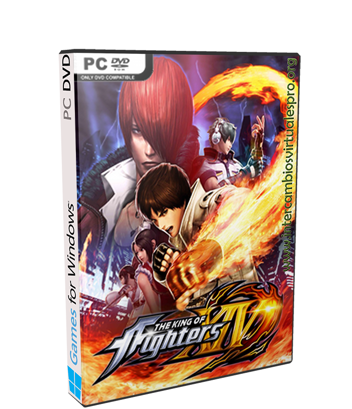 The King of Fighters XIV : STEAM EDITION poster box cover