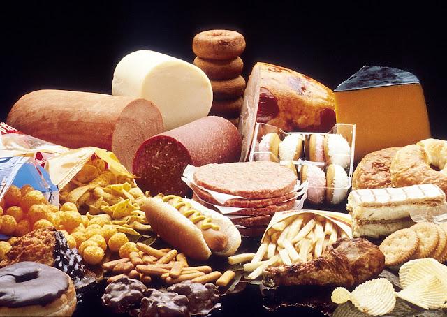 Cholesterinhaltiges Essen