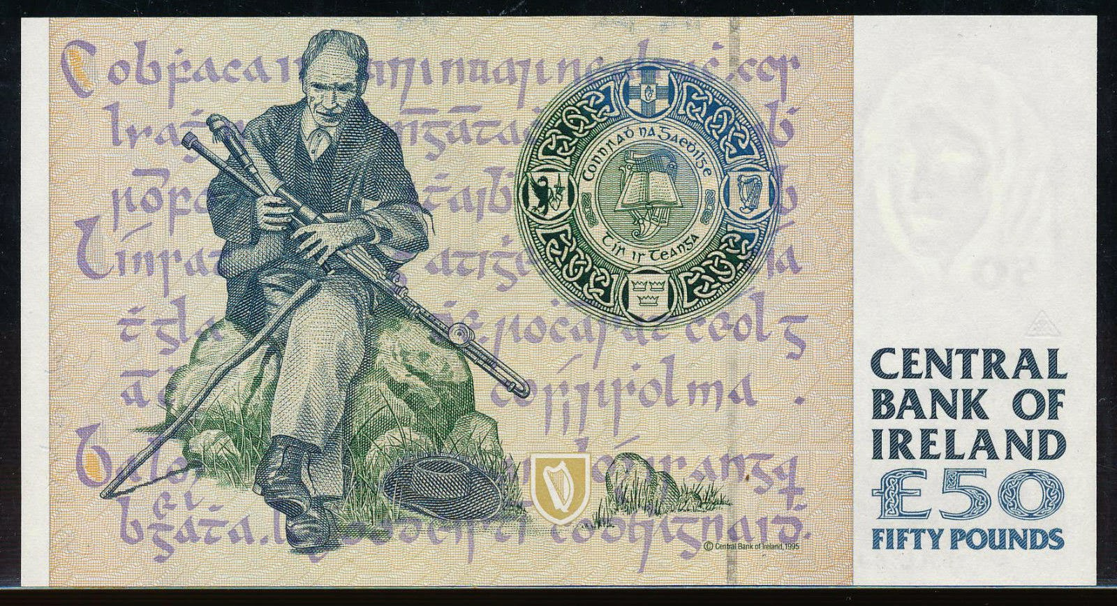 Ireland Fifty Pounds banknote