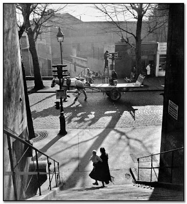 Willy Ronis - Avenue Simon Bolivar - 1950
