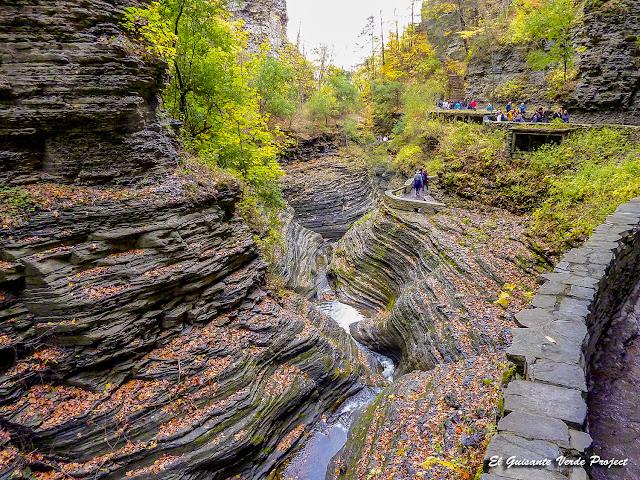Watkins Glen State Park - Estado de Nueva York por El Guisante Verde Project