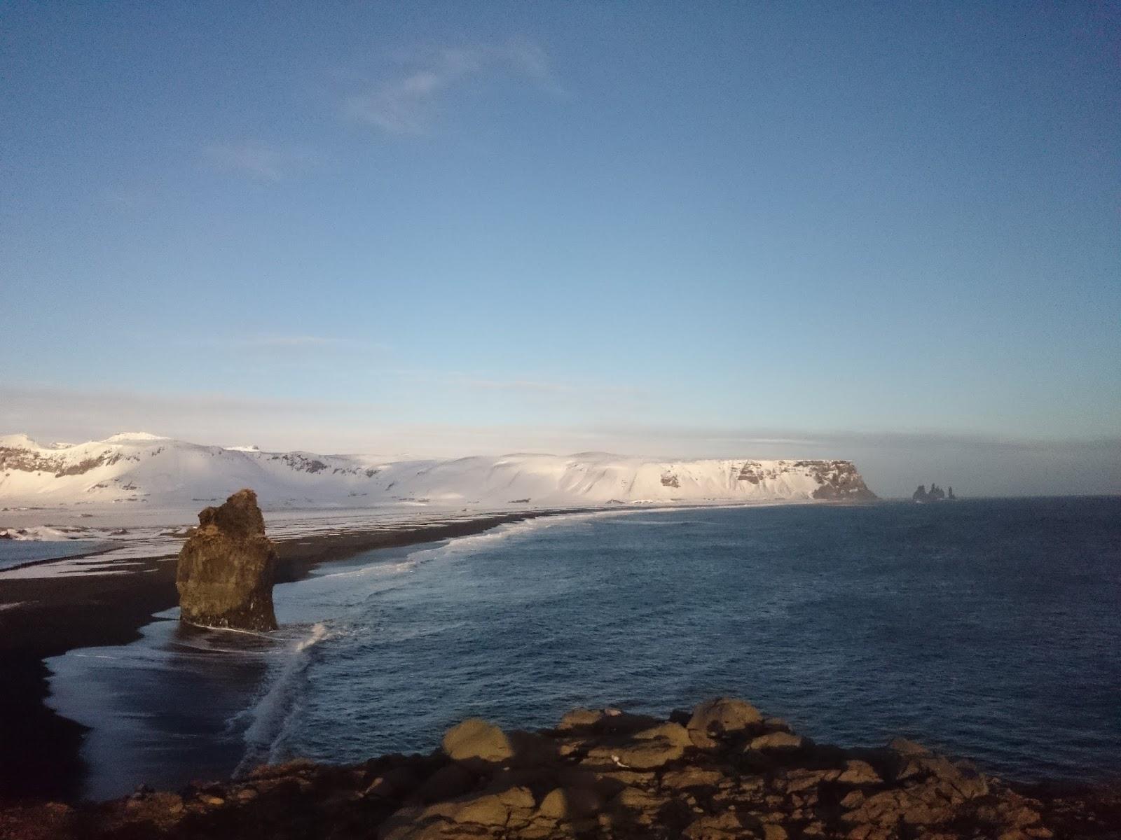 zimowa Islandia