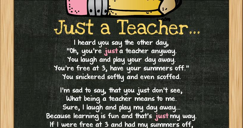 Just a Teacher    | Fluttering Through First Grade