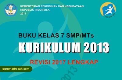 buku kelas 7 smp/mts k 13 revisi 2017
