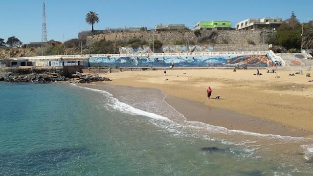 Passeio pelas praias de Valparaíso
