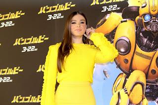 Hailee Steinfeld At Bumblebee Premiere in Tokyo