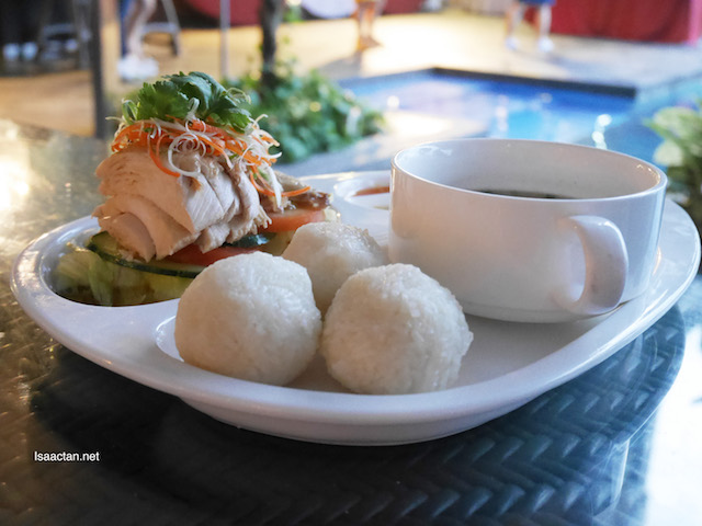 Hainanese Chicken Rice Balls