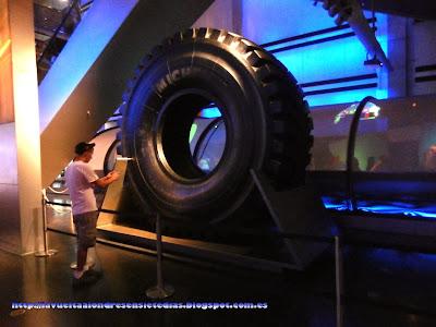 La rueda más grande del mundo, en el Science Museum