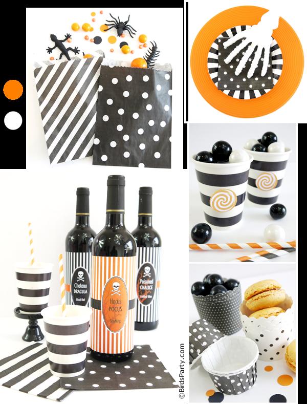 Easy Halloween Party Ideas Diy Decor Food Party Ideas Party Printables Blog
