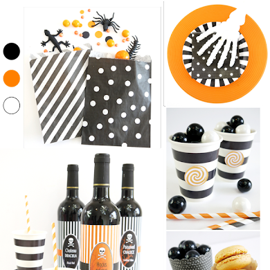 Easy Halloween Party Ideas, DIY Decor & Food