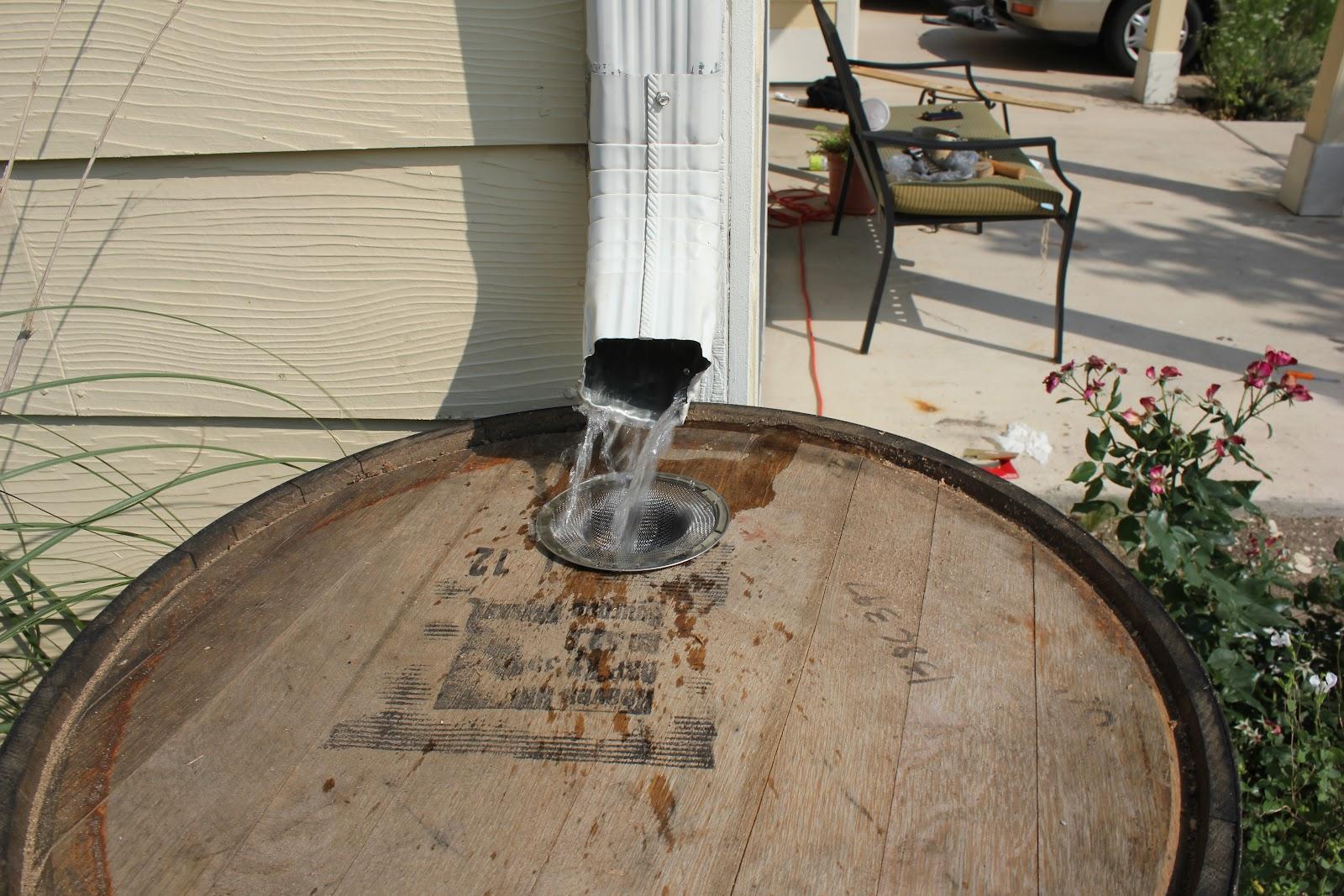 Fire Fly Fisherman Whiskey Rain Barrel