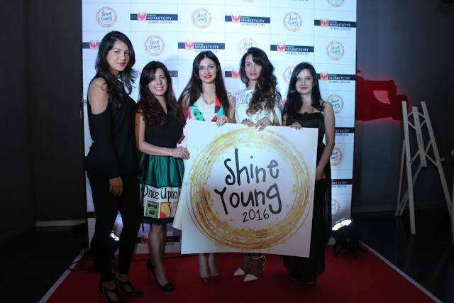 Gwen Athaide, Priya Kumar, Divya Khosla Kumar, Karishma Modi, Amy Billimoria at Shine Young Launch, Phoenix Marketcity, Kurla 1