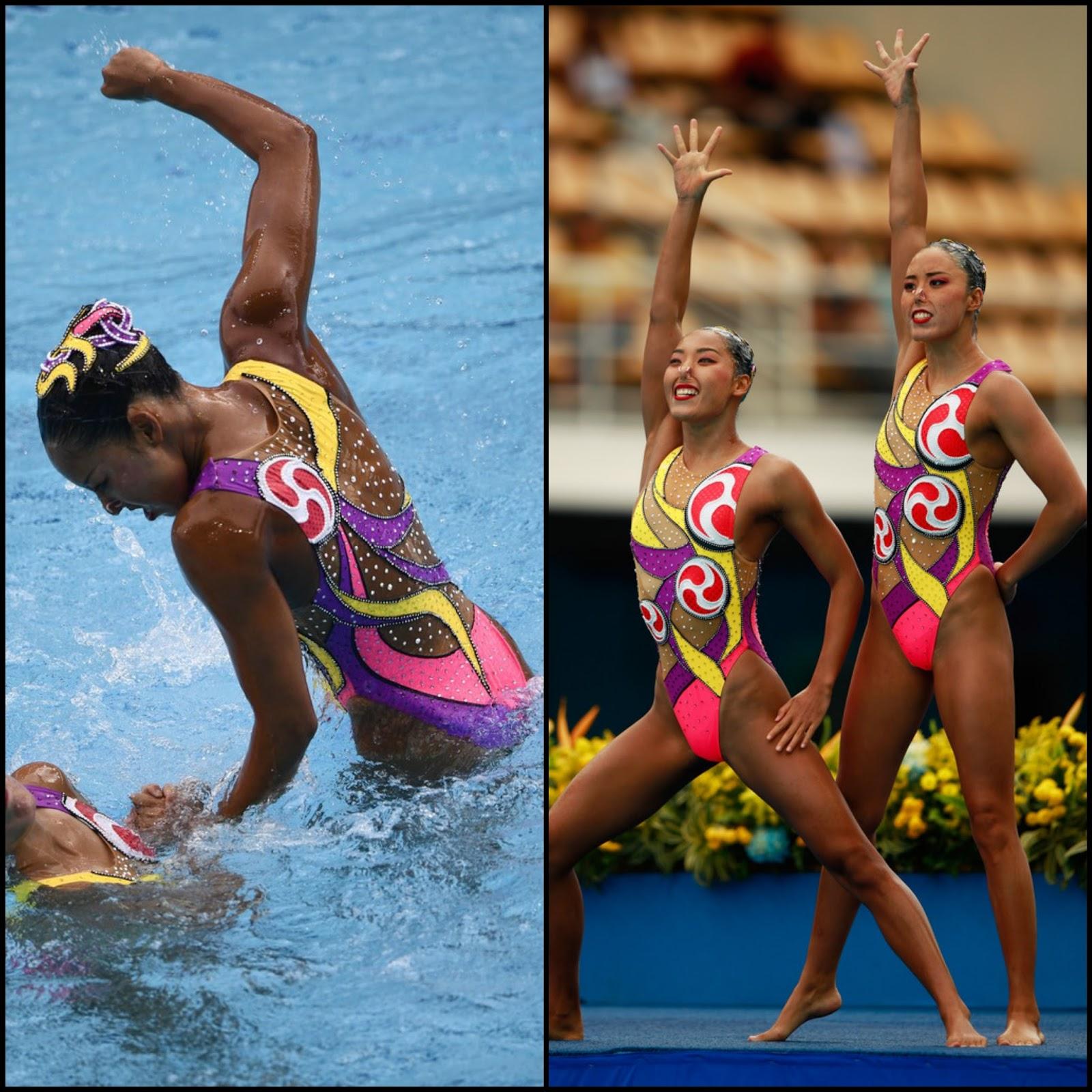 Olympic Stylerio 2016 Olympics Synchronized Swimming Duet