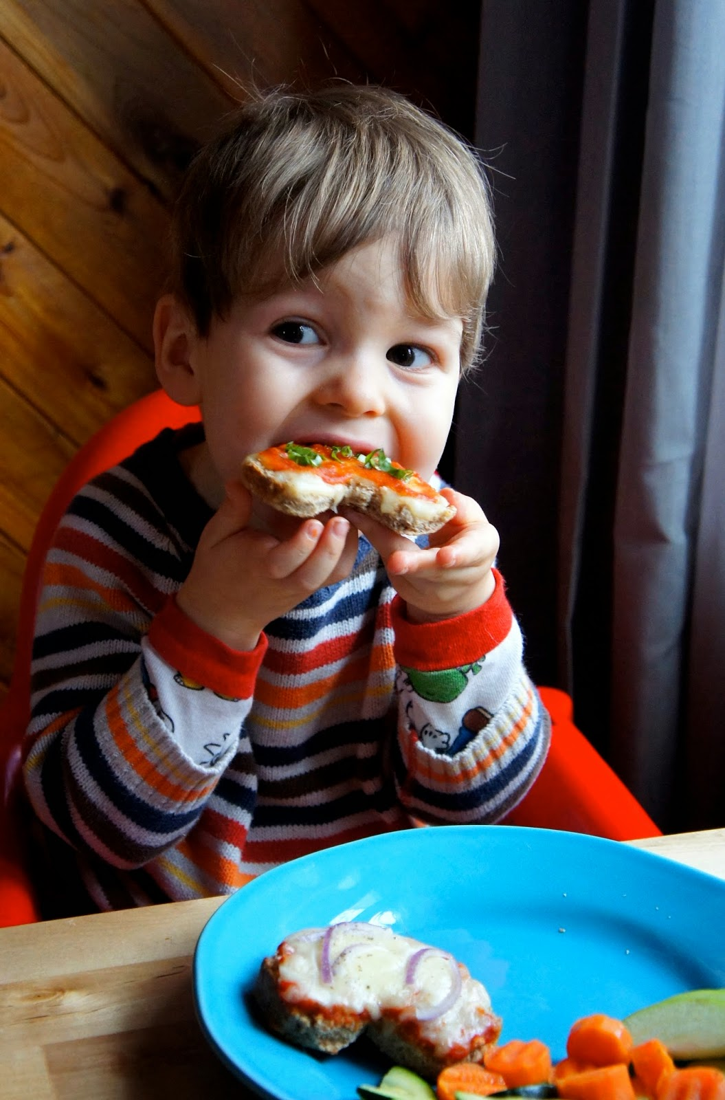 Kid Can Eat!: Sprouted Grain Pizza Valentines