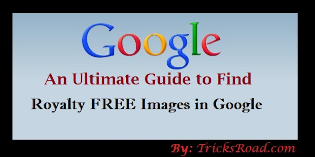 find royalty free images in google